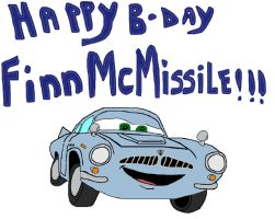 Happy B-day Finn-McMissile by Barricade9-1-1