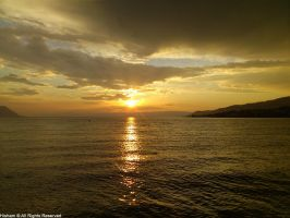 Montreux Sunset by YZH619