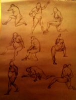 Life Drawing 14 by marvelmania
