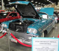 58 Chevy impala convertible by zypherion