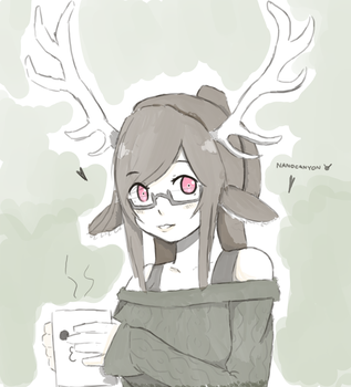 Antlers study by NANOCANYON