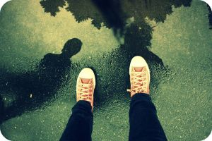 Mirror On The Ground by Ngetzi