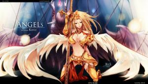 The Angels 2 (Kayle!) by beanbean1988