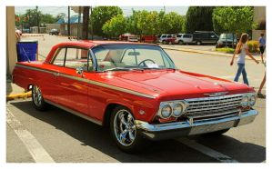 Cool Red Impala by TheMan268