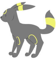 Umbreon by Toasterbots