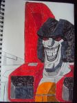 Starscream Completed by TheSkullgrin140