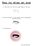 [TUTORIAL] How to draw an eye -Super Easy Method by Pureadimelograno