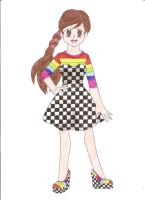 Contest: Rainbow and Checkers by animequeen20012003