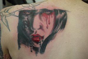 prtrait tattoo 2 by ubertattooist