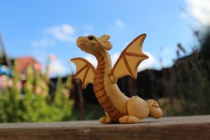 Game of Thrones, Viserion - Polymer Clay by RaLaJessR