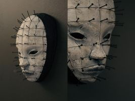 mask - PINHEAD by torvenius