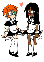 The Maids by Krooked-Glasses