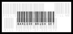 barcode brush set by hallucinogenic-brush