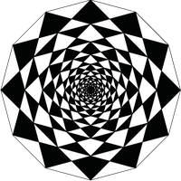 Dodecagon Infinite Square Pattern by towerpower123