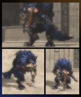 SMITE: Fenrir's Chew Toy! by VoreQ