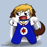 .: Vic puppy - costume :. by ASinglePetal