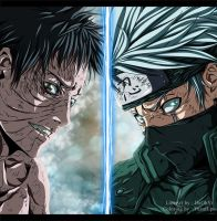 Naruto 686 - Obito And Kakashi by Yusuflpu