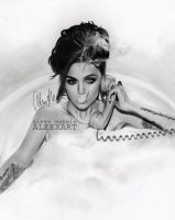 Cher Lloyd - Sorry I'm late by aleexart