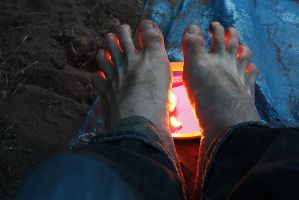 Cold Feet. by mrcup