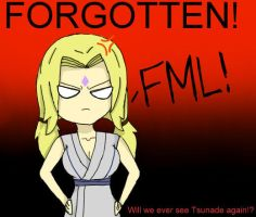 Tsunade's FML by PEPPERsLAUGHTER