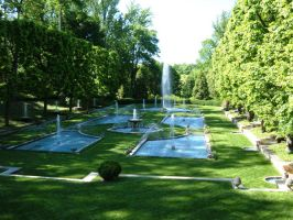 Italian Water Garden by Rothar