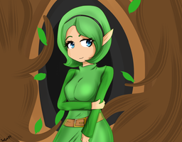 Saria by LadySelph