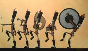 Marching Band Bots by legumebean