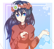 || GIFT Flower crown || by IKira-n