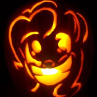 Pinkie Pie Pumpkin by DashXFox