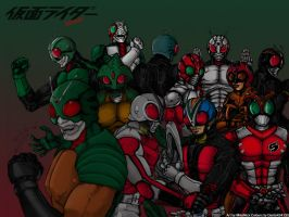 Kamen Riders Forever REVISED by Dante424325