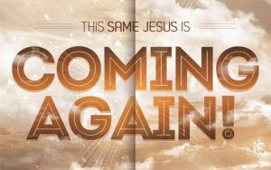 Coming Again Church Flyer Template by loswl