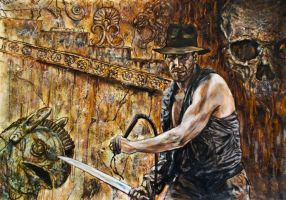 indiana jones by FDupain