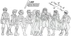 GB Avengers- bday gift to a-Arty by KarolaKH