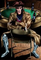 Gambit (Color) by KeithMeyerArt
