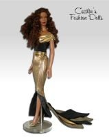 16 Tonner Doll's Dress and Shoes by Kabanero