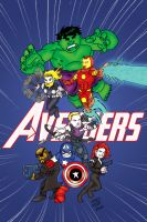 Mini Avengers by pascal-verhoef