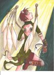 The Girl with Wings by TheDreamerofSpace
