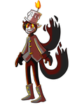 Character Design for Sale: Wick by Coffeetology