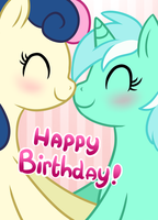 Happy Birthday Rena by tessiursa