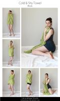 STOCK - Cold and shy Towel by LaLunatique