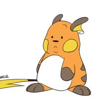 Nose-picking Raichu animation by Jackster3000