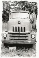 Old Work Truck by sacredspace