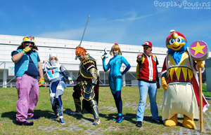 Smash Bros Brawl by CosplayCousins