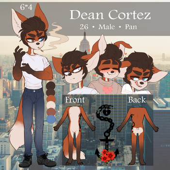 Dean Cortez [Reference] by SC00TYB00TY