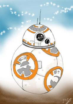 BB-8 by shadowdolphin