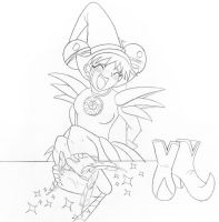 Doremi tied on the table by pirata3
