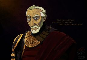 Tywin Lannister, The Old Lion by Ubergimp