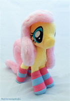 Fluttershy plush bag by mmmgaleryjka
