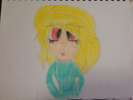 Anime style of my drawing by VinnieValentine00