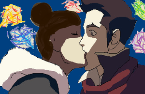New Years Kiss by FutureHopeSolo